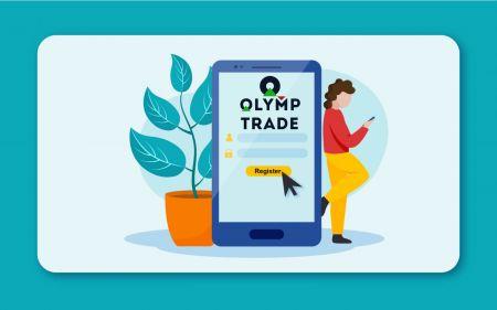 Como registrar uma conta no Olymp Trade