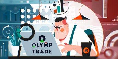 Como abrir uma conta de negociação e registrar-se na Olymp Trade