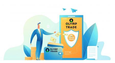Como abrir uma conta e depositar dinheiro na Olymp Trade