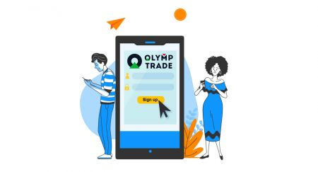 Como criar uma conta e registrar-se na Olymp Trade