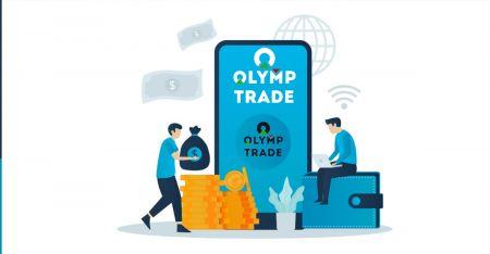 Como se registrar e sacar dinheiro no Olymp Trade