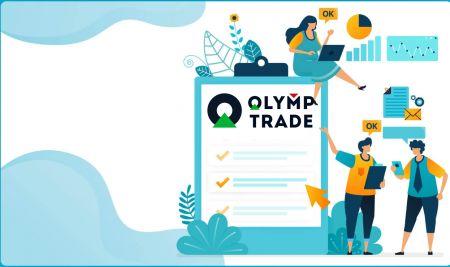 Como fazer login e verificar conta no Olymp Trade