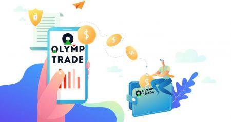 Como fazer login e sacar dinheiro do Olymp Trade