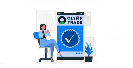 Como verificar a conta no Olymp Trade