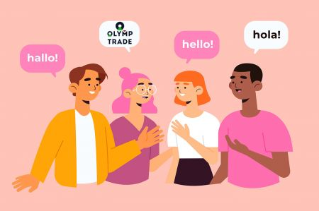 Suporte multilíngue da Olymp Trade