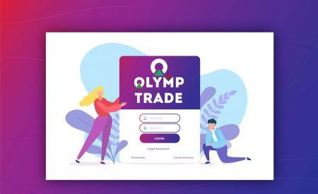Como abrir uma conta e fazer login no Olymp Trade