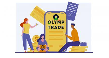 Como fazer login e depositar dinheiro no Olymp Trade