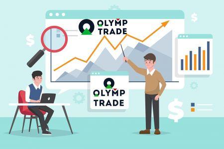 Como se registrar e negociar na Olymp Trade