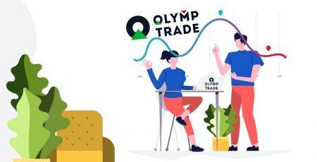 Como negociar na Olymp Trade