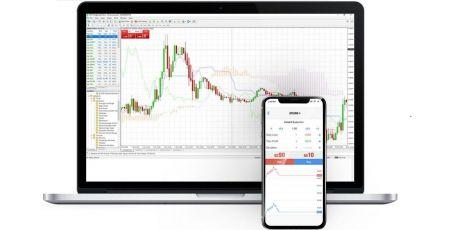 Alavancar 1: 500 corretores de negociação Olymp Trade com MetaTrader 4 (MT4)